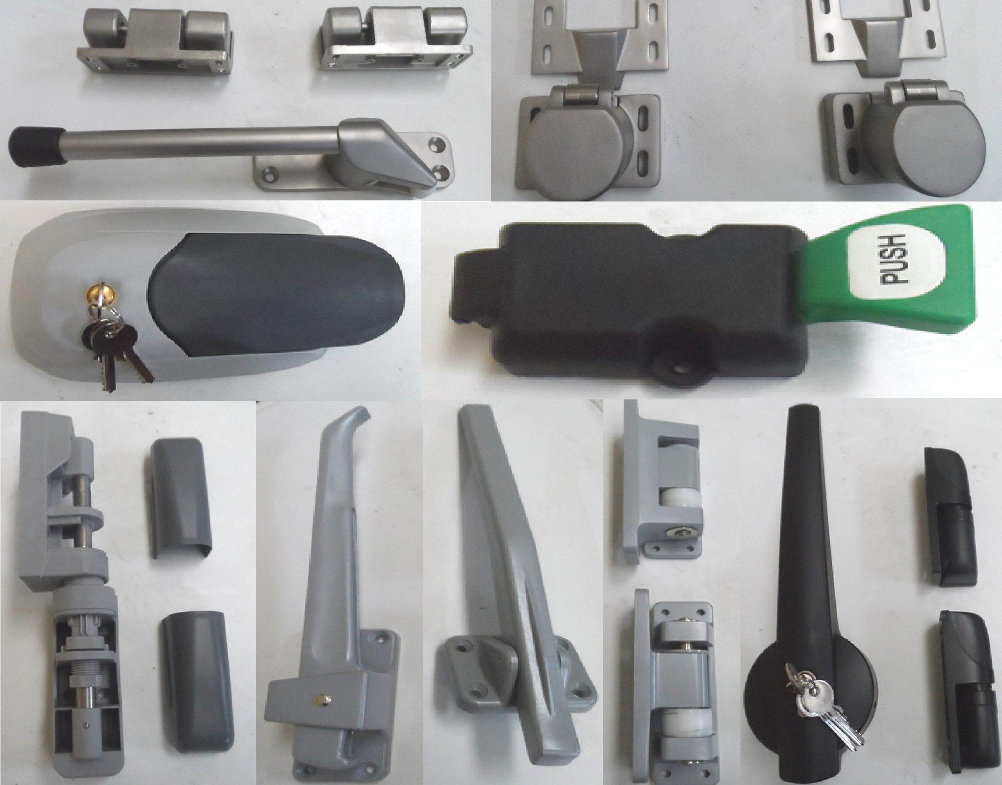 Refrigeration doors accessories