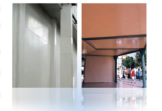 PVC cladding panels for walls and ceilings