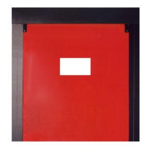 Puerta autorreparable