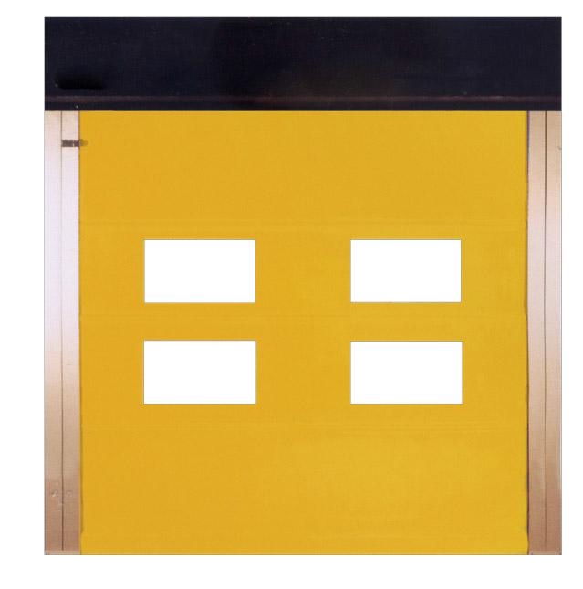 Reinforced exterior door
