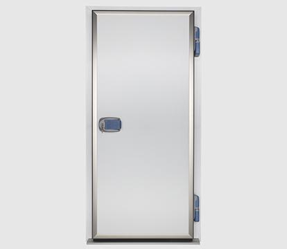 Puerta frigorífica pivotante comercial