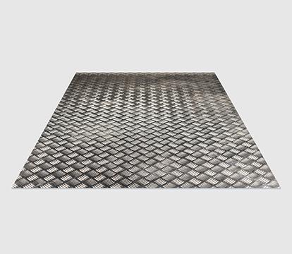 Reinforced aluminum floor