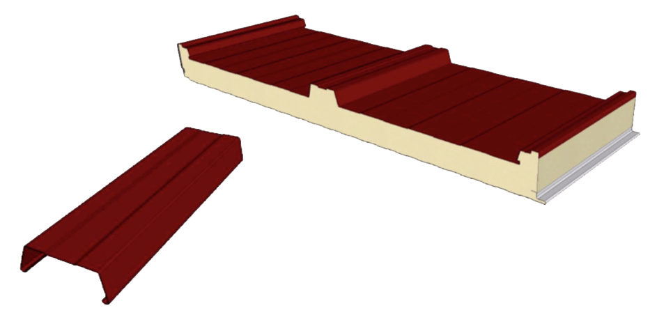 Panel sándwich de cubierta