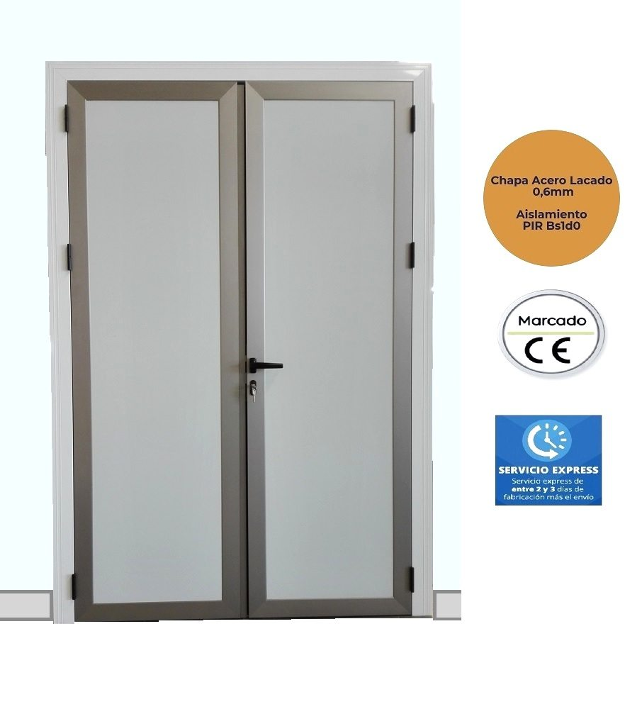 Porte battante PVC