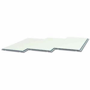 os paneles de revestimiento de PVC son hidrófugos, antibacterianos, anticorrosivos, soportan muy bien los golpes