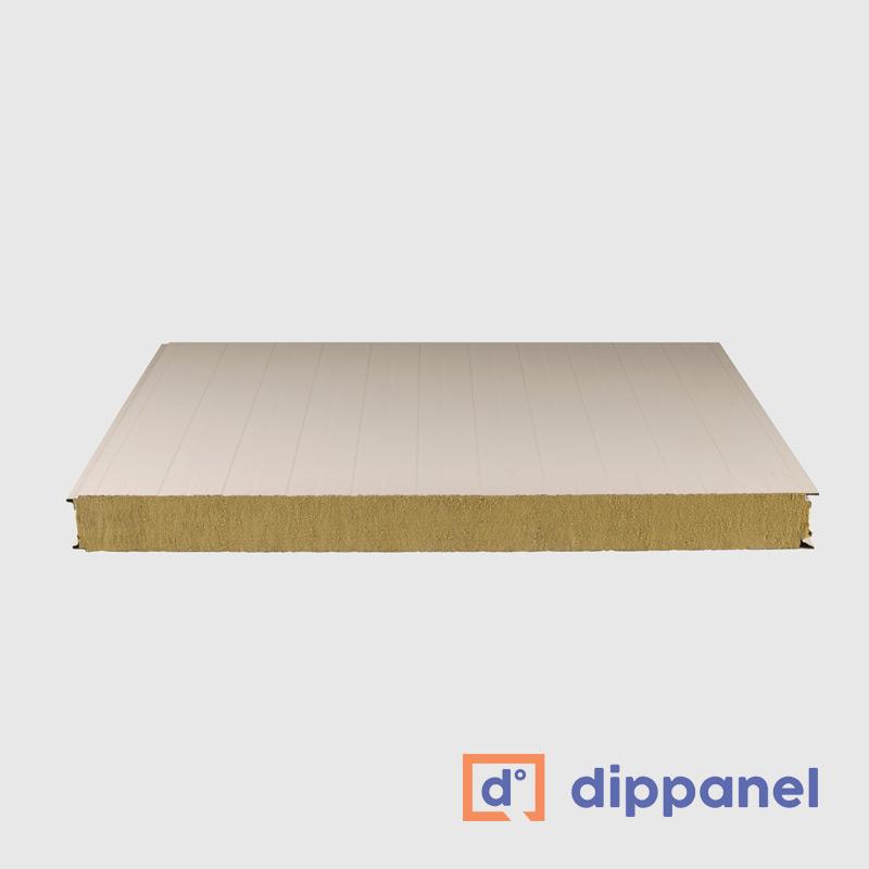 Panel sectorización lana de roca - Dippanel